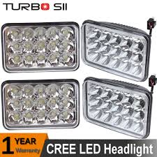 kenworth part numbers 4pc cree 4x6 led headlights for fld international sterling