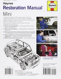 mini restoration manual restoration manuals amazon de lindsay
