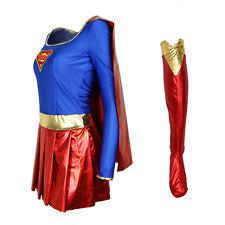 Superwoman Halloween Costumes Supergirl Costumes Ebay