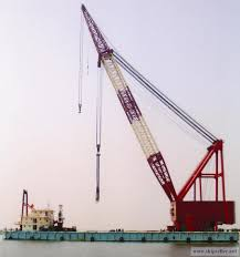 Pedestal Crane Crane Barge Pedestal Floating Crane Vessel 50t To 5000t