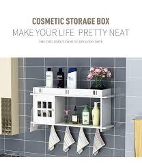 plastic bathroom kitchen corner wall storage rack organizer shower