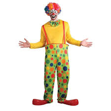 clown costumes mens clown costume ebay