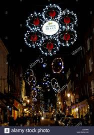christmas lights in monmouth street seven dials covent garden