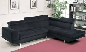 Black Fabric Sectional Sofas Black Fabric Sectional Sofa