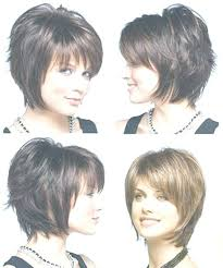 front and back pictures of short hairstyles for gray hair layered short haircuts front and back view