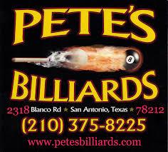 pete u0027s billiards 210 375 8225 pool table repair cue repair dart