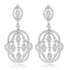 Designer Chandelier Earrings Designer Chandelier Earrings For By Luxurman 2 5ct