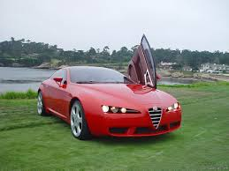 alfa romeo montreal concept alfa romeo brera concept 2002 v8 400 hp rare footage compilation