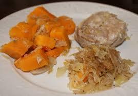 slow cooker steak and potatoes 5 dollar dinnerscom slow cooker pork chops and sauerkraut with sweet potatoes