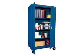Metal Storage Cabinet With Doors by Teacher U0027s Mobile Metal Storage Cabinet