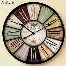 Large Home Decor Wholesale Home Decor Large Wall Clock 60cm U0026amp 34cm Antique