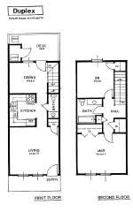2 bedroom floorplans apartment rental layout spacious living oversized closets patio gray