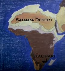 Kalahari Desert Map Desert Location