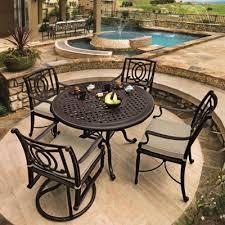 gensun patio furniture bel air cast aluminum cushioned patio