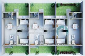 Row House Model - rafael rowhouse 2 bedroom 1 tb at granville crest davao real