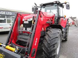 2014 massey ferguson 7616 4wd tractor c w loader u2013 martin u0027s garage