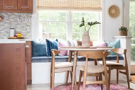 cozy and comfortable diy breakfast nook