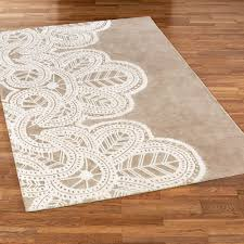 Taupe Area Rug Antique Lace Taupe Area Rugs