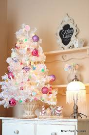 small white christmas tree with lights the holiday aisle 3 white artificial christmas tree with 45 led