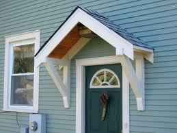 House Front Door Kids Ideas Canopies Over Front Door Build Canopy Awning House Oak