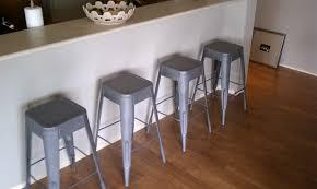 nickel finish counter stools brushed nickel bar stools modern