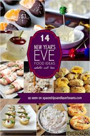 14 new year u0027s eve food ideas adults will love spaceships and