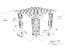 Pergola Kits Cedar by Index Of Downloads Online Images Yardistry Images 12x12 Cedar