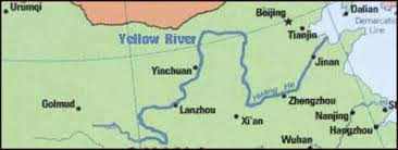 rivers in china map yellow river facts and details