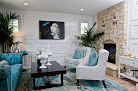Scrumptious Turquoise Living Room Ideas Home Design Lover - Stylish living room furniture orange county property