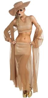 lady gaga gold costume halloween costumes other items