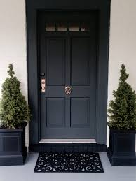 Modern Door Knockers Front Door Painted In Farrow U0026 Ball Down Pipe Porch Pinterest
