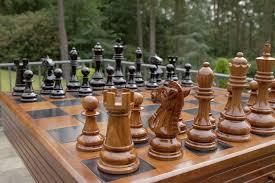 large wooden pieces large teak chess pieces large teak chess set large teak chess