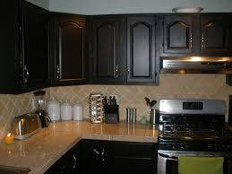 Painting Kitchen Countertops Pictures U0026 Kitchen Cabinet Spray Paint Ideas With Pictures And Impressive