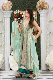 bridle dress exclusive aqua green color bridal dress exclusive online boutique