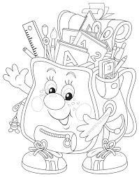 back to coloring page freebie first day of kindergarten
