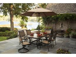 Agio 7 Piece Patio Dining Set - agio maguire aluminum porcelain top dining table becker