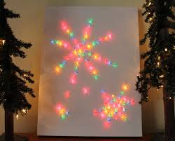 desperate craftwives christmas light canvas