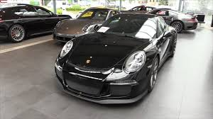 black porsche 911 gt3 porsche 911 gt3 2015 in depth review interior exterior youtube