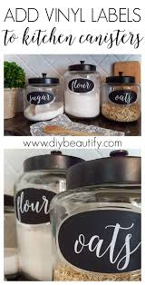 labels for kitchen canisters diy labels for kitchen canisters diy beautify