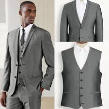 light gray vested suit light gray tuxedo suits custom made morning mens suits groom tuxedos