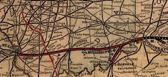 Map Of Dayton Ohio Ohio U0026 Mississippi Railroad