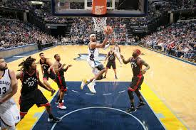 gasol leads grizzlies past raptors 101 99 memphis grizzlies