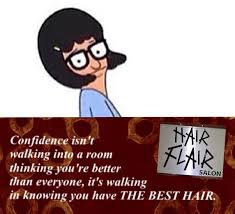 Meme Edit - hair flair hair salon bradbury news