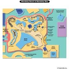 mandalay bay pool map mandalay bay resort seating charts