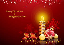 new year card design merry christmas and happy new year wish card design 2
