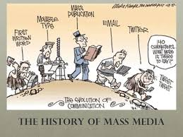 mass media history of mediated communication pr intro to