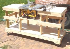 diy table saw stand table saw bench plans inspirational diy table saw stand on casters