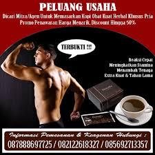 peluang usaha dicari mitra agen jual kopi obat kuat khusus pria