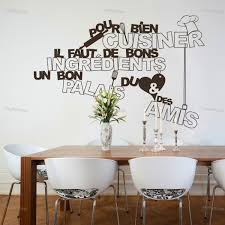 stickers cuisine phrase stickers pour meuble de cuisine maison design bahbe com