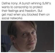 define irony safe space know your meme